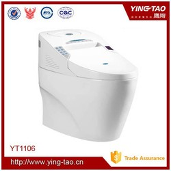 Bathroom furniture smart toilet automatic cleaning and deodorant