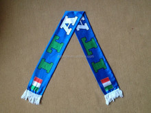 2016 Euro Cup Italy flag scarf with tassel