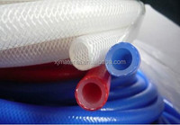 Durable FDA hot selling clear braided tubing /braided silicone hose
