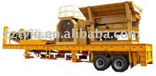 easy operate and low cost mobile crusher with ISO 9001:2000
