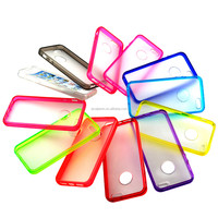 Free sample Colorful PC +TPU case cover for iphone