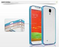 Full Aluminum metal bumper phone case for samsung s4/ bumper cover case for samsung s4