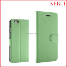 2015 Hot selling design wholesale custom flip mobile phone leather case for iphone