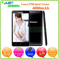 Lenovo P780 android cell phone 5 inch MTK6589 Quad Cores 1GB 8GB Android 4.2 unlocked mobile phones