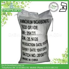 Ammonium bicarbonate ABC food grade
