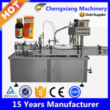 High speed Automatic filling&capping machine, bottled glass filling machine (shanghai manufacturing)