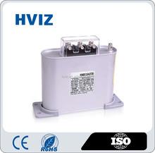 BSMJ 400v-450v, 2.5kvar- 100kvar capacitor self-healing power capacitor low voltage self healing shunt capacitor