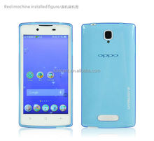 Slim light safety cover for mobile phone for oppo r831t