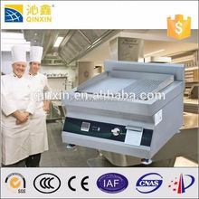 Commercial industrial kitchen equipment used stainless steel induction flat cast iron comercial bbq grill