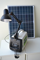 150w family use portable solar power system
