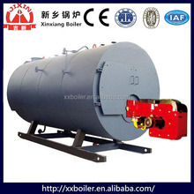 Horizontal Corrugated furnace small natural gas boiler with gas boiler parts in china