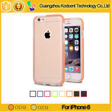 Hot selling mobile phone transparent ultra thin case for iphone 6