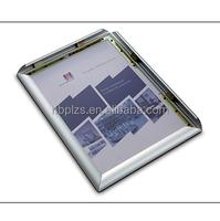2015 photo frame aluminum snap frame a4 clip clap frame