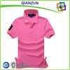 hot embroidery girl polo shirt fshion girl shirt cotton slim fit shirt