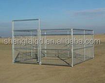metal dog enclosure