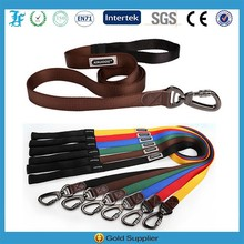 Wholesale High Quality Carabiner Pet Dog Leash 100% Nylon Carabiner Leashes