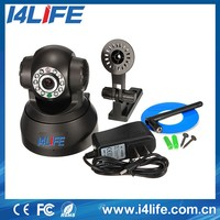 P2P Indoor Wireless Home Security IP Network Camera, Baby Monitor with Video Record