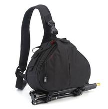 CM0418 Promotional Messenger Black Dslr Camera Bags