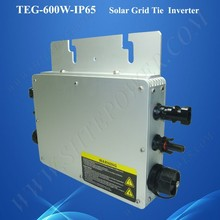 High performance maximum power point tracking dc ac 48v 220v waterproof inverter 600w