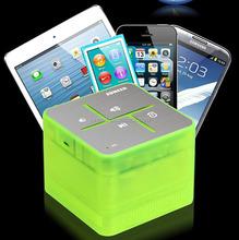 Hot Sale! Indoor&Outdoor Mini Portable Powerful Loud Bluetooth V3.o+EDR Speaker Wireless Music Box