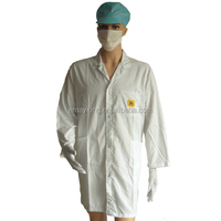 ESD Uniform Cotton smocks,TC smock, ESD T/C Cotton Working Clothing