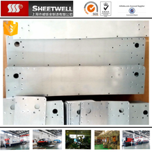 iron mild steel sheet metal laser cutting bending frames