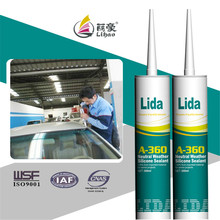 auto windshield glass silicone gasket sealant