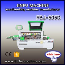 FBJ-505D low price manual end trimming semi auto wood edge banding machine with CE
