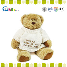 2015 China animal plush toy top 10 Sales promotion plush stuffed teddy bear