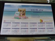 High quality custom desk pad calendar in promotion