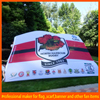 custom made durable promotional polyester flag fabric