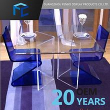Brand New Acrylic Small Size Dining Table