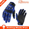 RIGWARL High Quality Motorcycle & Auto Racing Blue Adult Motorcycle Glove With OEM Serice