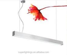 Aluminum suspended light fixture/art deco light fixtures