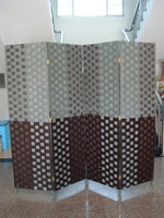 2015 handmade woven make folding screen room divider foldable wholesale