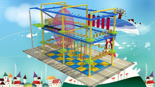 Adventure Ropes Course playground provider