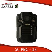 Portable Police Body Camera, Ambarella A2S70 Master Chipset, Full HD 1080P Video Resolution, SC PBC-1K