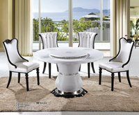 round rotating dining table/korean dining table