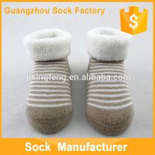 Newest fashion terry baby floor socks