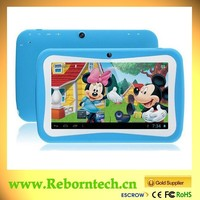 Children Tablet PC Android 4.4 Dual Core 7 Inch RK3026 Kids Tablet