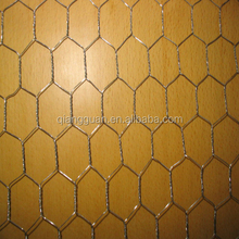 electro galvanized chicken wire netting 3/4 inches , heavy galvanized wire netting