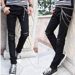2015 new style fashion men jeans guangzhou no label jeans