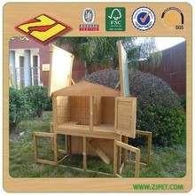 high quality 2 story Rabbit Hutch