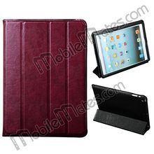 2014 Hot Selling Cheap Stand Leather Case with Sleep Wake Function for iPad Air from China Shenzhen