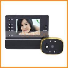 """3.5"""" LCD Digital Peephole Viewer 120 Degree Door Eye Doorbell Video Color IR Camera"""