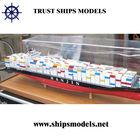 Modelismo navio porta-contentores de novo produto