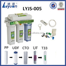 ultrafiltration household water filters 5 stages on sale