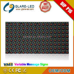 Outdoor full color p16 vms led module