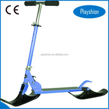 Fashion snow sled, ski scooter snow bike,snowmobile, pedal snow scooter for winter sports