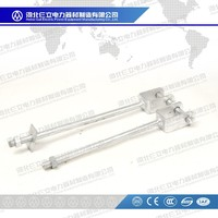 D iron bracket/D iron bracket with bolts and nuts for electric power accessories fitting